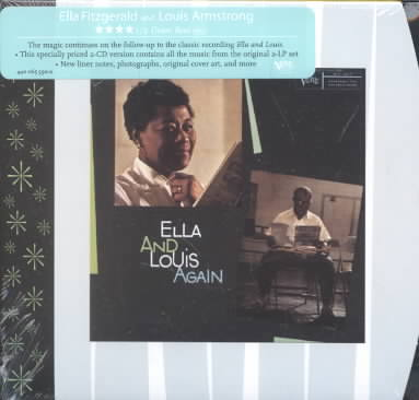 ELLA AND LOUIS AGAIN BY FITZGERALD,ELLA (CD)